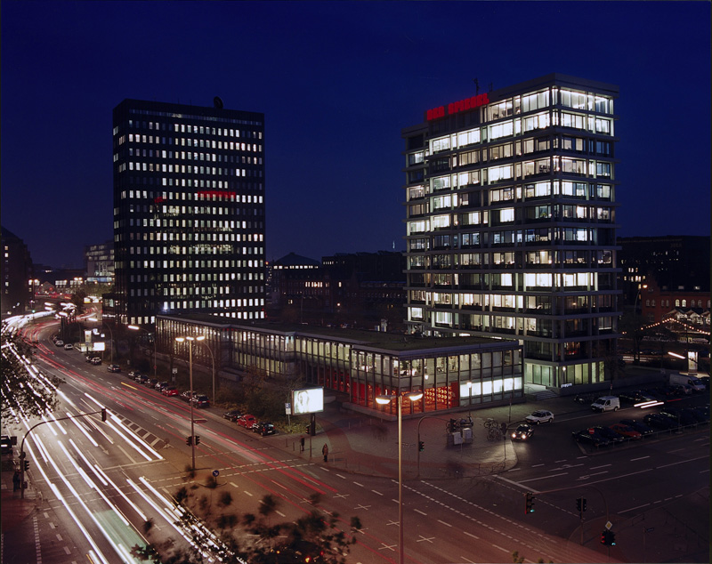 DER SPIEGEL headquarters in Hamburg