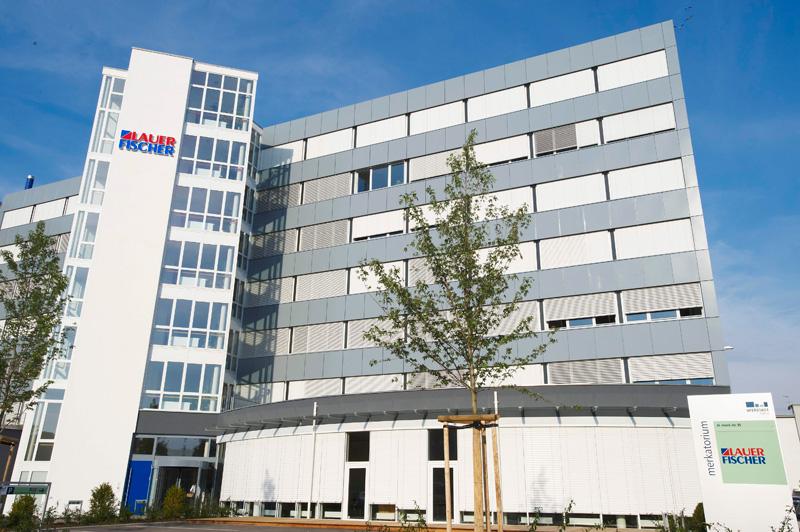 The office of LAUER-FISCHER GmbH in Fürth, Germany