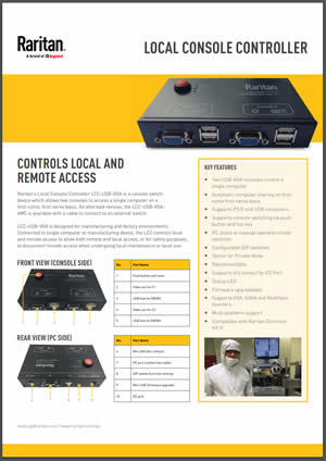 local-and-remote-centralized-access-semiconductor-equipment-local-console-controller-datasheet