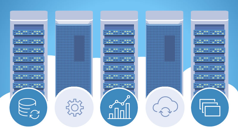 Cloud Colocation Data Center Servers