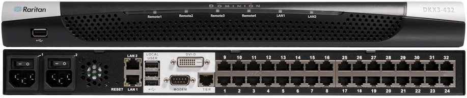 Dominion KXIII vs KXII KVM Switch