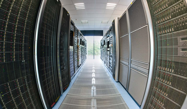 Raritan Data Center Fish Eye